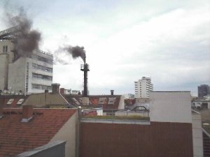 Smoke signals from the rooftops of Berlin